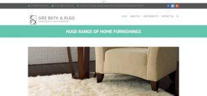 sirebath&rugs-home page