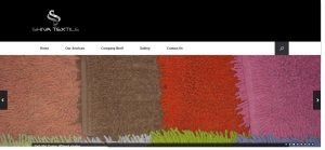 Shiva textiles-home page